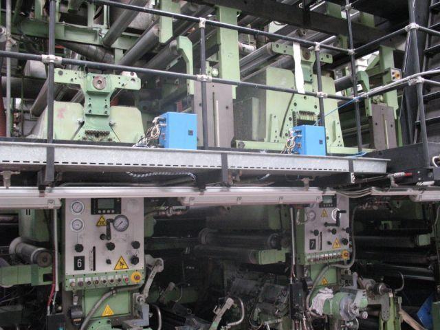 Rotomec Rotogravure Press 1000 mm