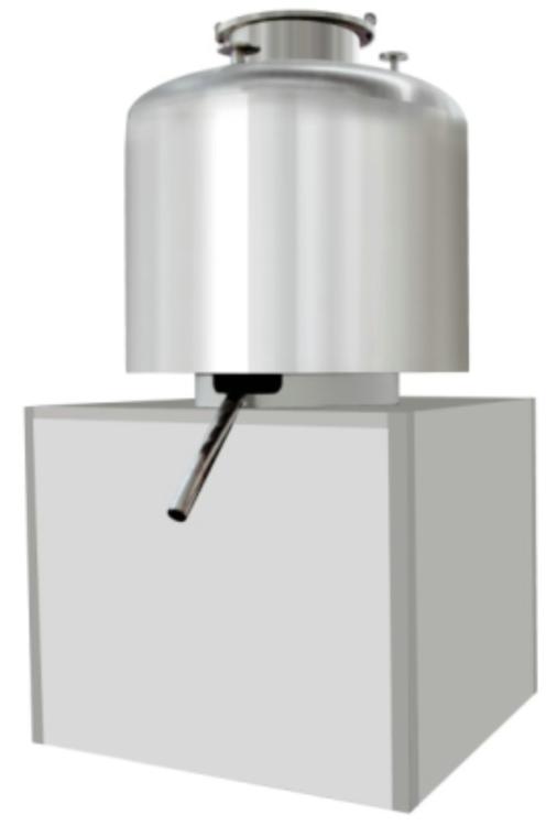 Fubang 1 Vertical vacuum vibration flow drying