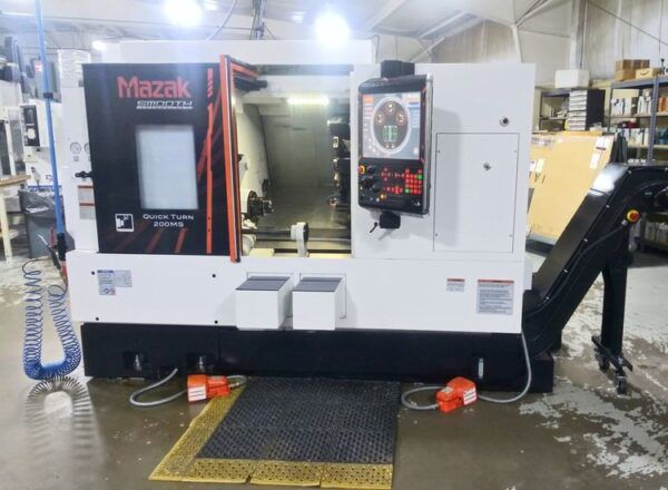 Mazak Quick Turn 200MS 3 Axis