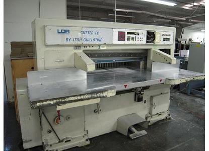 Itoh 115, Guillotine Machine, Max 115 cm