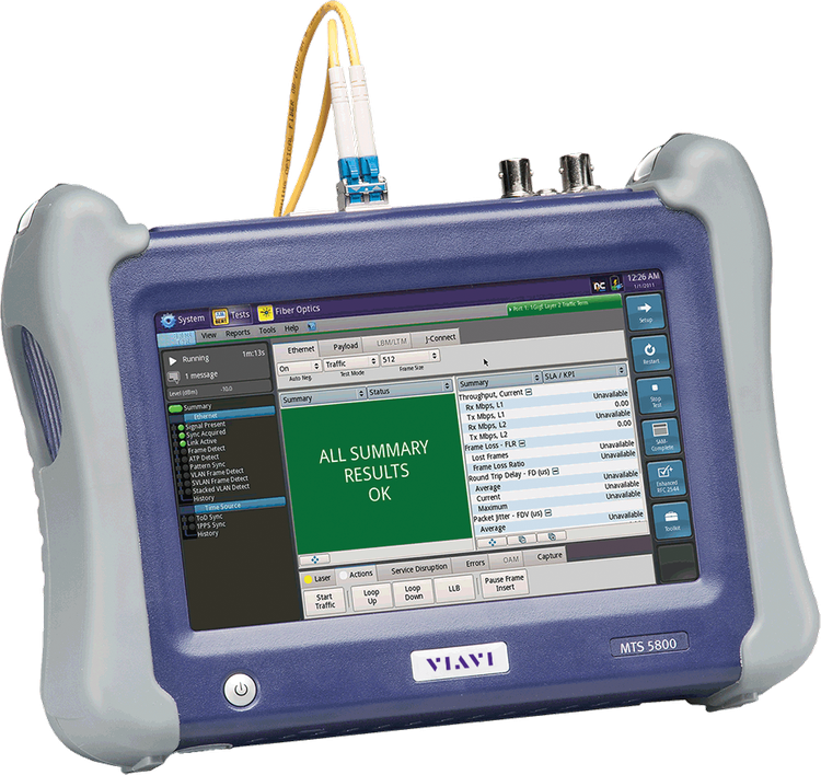 Others MTS5800-5812 Handheld Network Tester