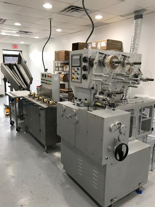 Loynds BR70 ,RS5 5-stage,CF500  Cut & Fold Wrap Line