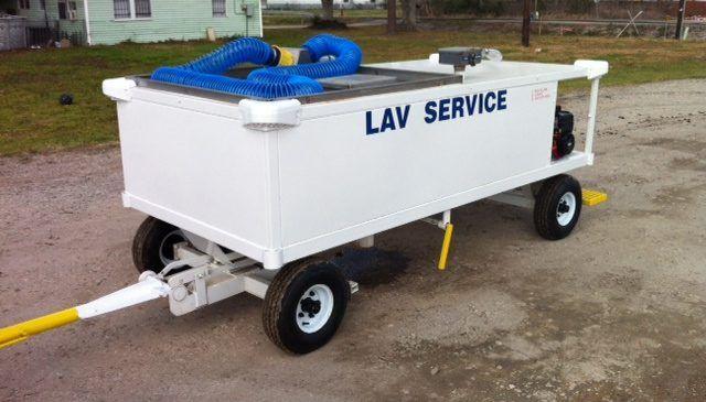 LC 250, Lavatory Service Cart