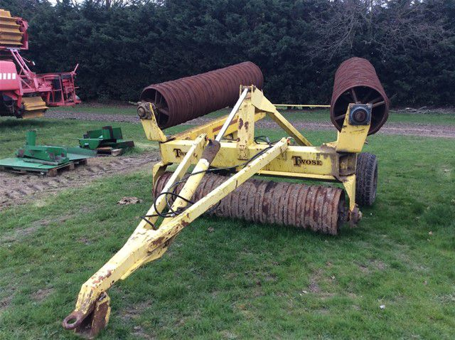 Twose  6.3M ROLLS TRAILED CULTIVATOR
