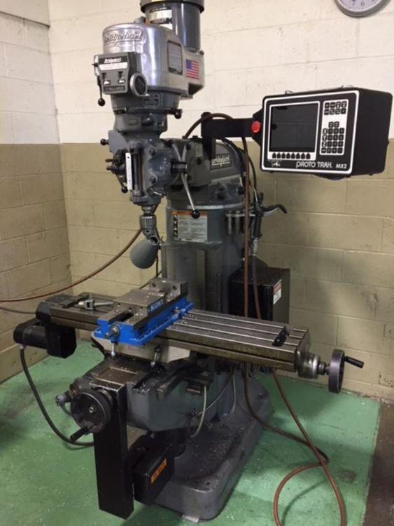 Bridgeport PROTO TRAK CNC MX2 Vertical Milling Machine 4200 rpm