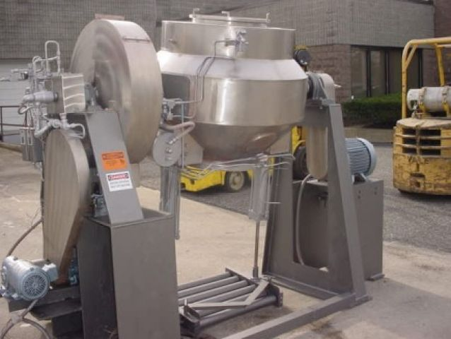 Gemco 10 Cu. Ft Double Cone Blender