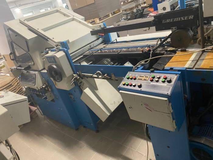 GUK K52/4 KL F4, Folding machine