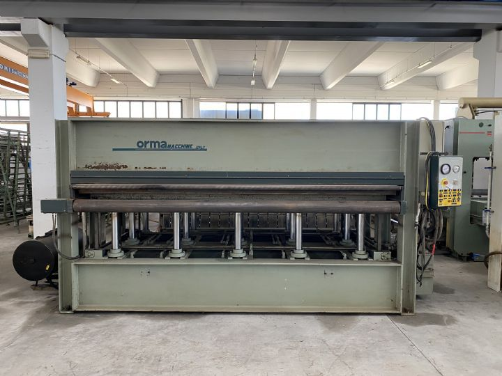 Orma Press Machine