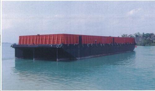 10000 Ton Deck/Bin Wall Barge