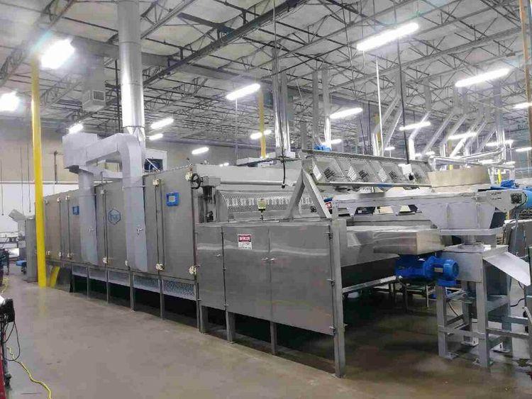 Proctor Schwartz PE-72-15-03 flat bed drying system