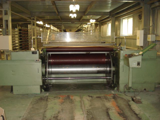 Karl mayer DS 75/40 Warping for knitting
