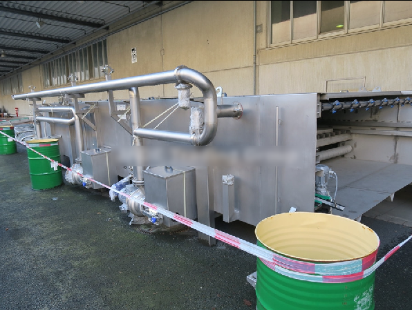 ESV Spennes , SS 12000 Tunnel Pasteurizer