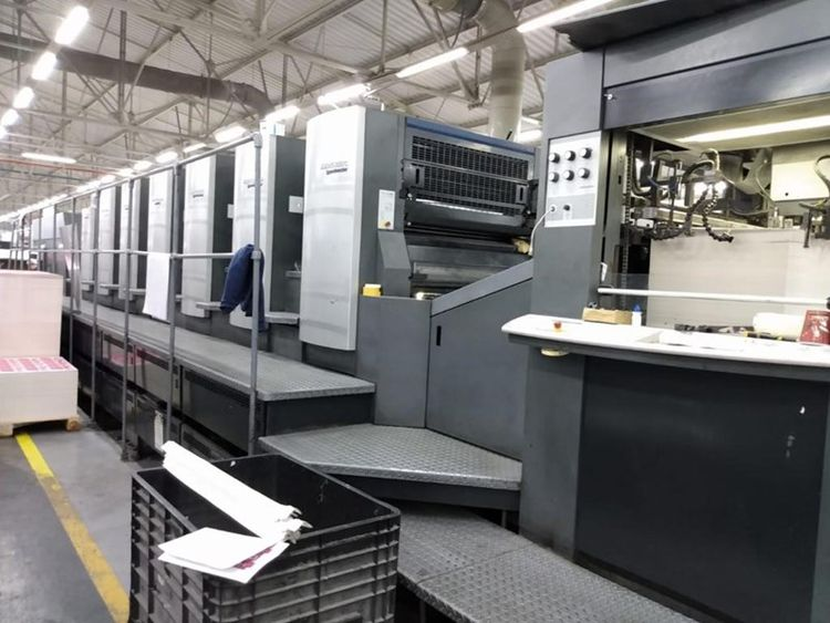 Heidelberg CD102 6+LX 6 720x1020 mm