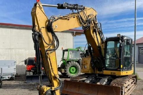 Caterpillar 314 D LCR Tracked Excavator