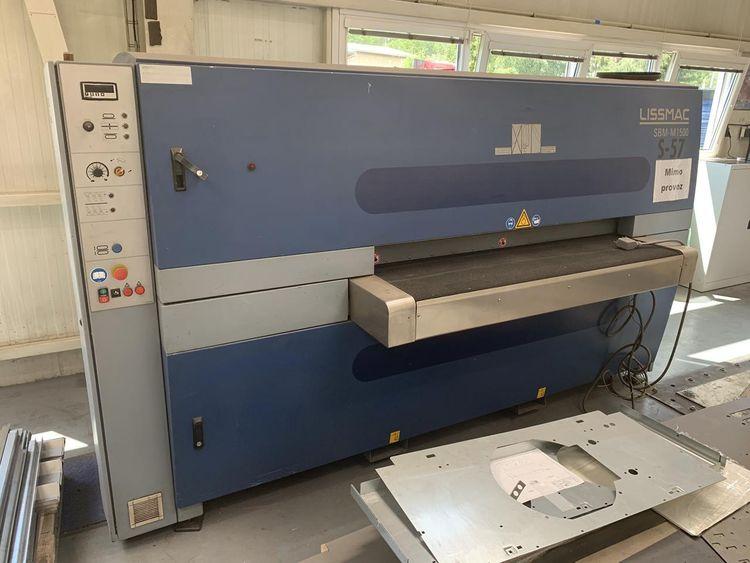 Lissmac Edge rounding-Deburring Machine SMB-M1500
