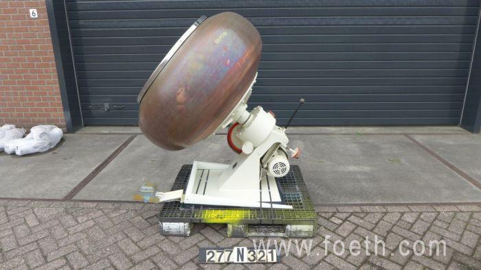 Walter XI Coating pan