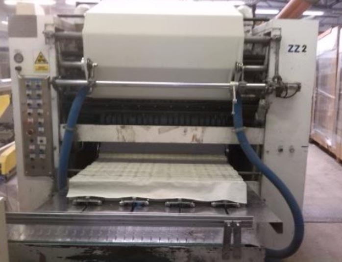 Other 4 lines 1.000 mm INTER FOLDER , V-towels,  embossing, twin unwind