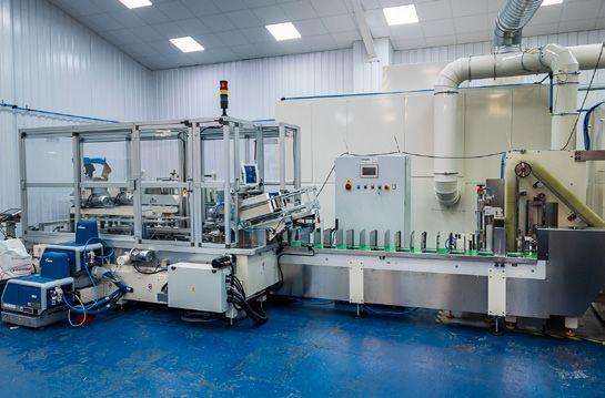 Andritz face mask production line D-Tech