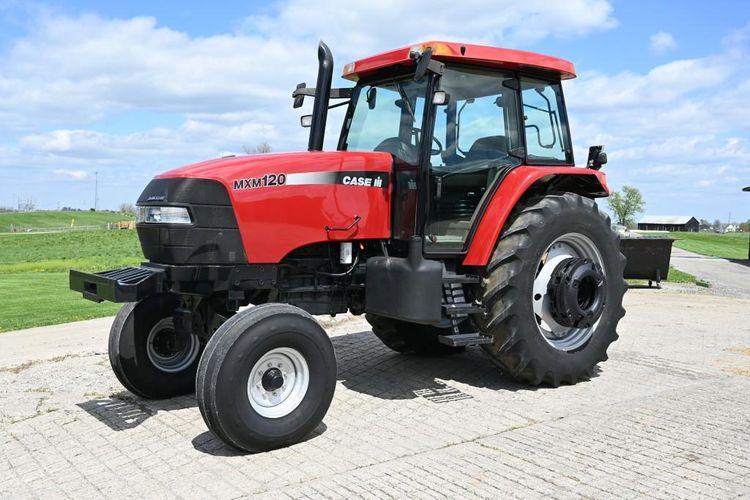 Case MXM120 Tractor