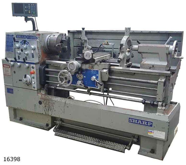 Sharp Engine Lathe 2000 rpm 1640C