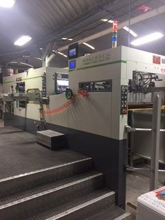 Brausse 1050 SEH, Automatic die-cutting machine and hot stamping