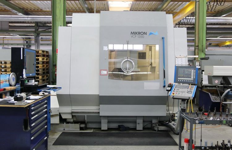 Mikron VCP 1350 3 Axis