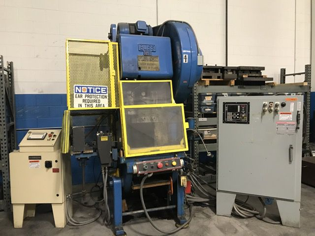 Bliss C-45 Flywheel O.B.I. Press 45 Ton