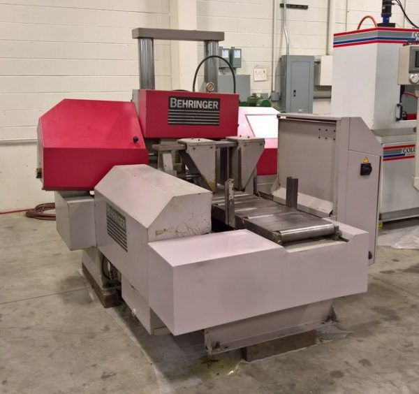 Behringer HBP303A Horizontal Band Saw Fully Automatic CNC