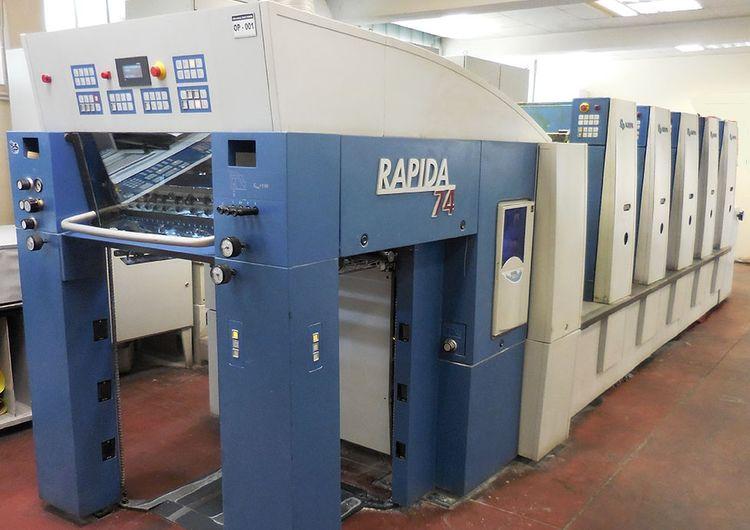 KBA Rapida 74-5 53x74