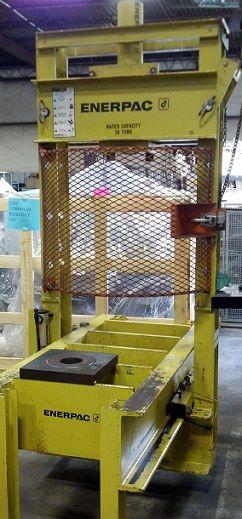 Enerpac Hydraulic Roll Frame Press 50 Ton