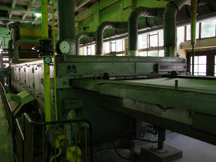Monforts 180cm Drying and thermobonding line Monforts