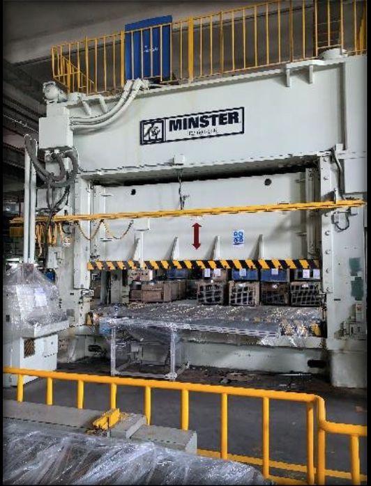 Minster E2-600-168-72 600 Ton