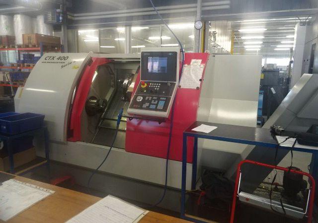 Gildemeister Control Heidenhain CNC Pilot 4290 5000 rpm CTX 400 2 Axis