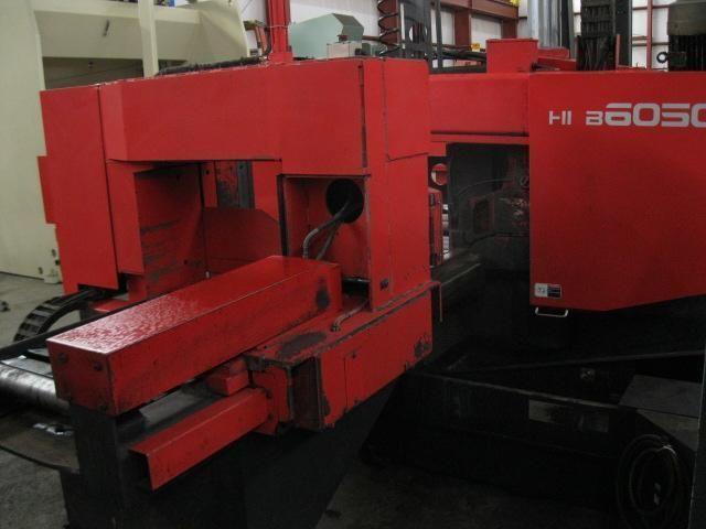 Amada HKB 6050 HORIZONTAL BAND SAW Amada CNC Control