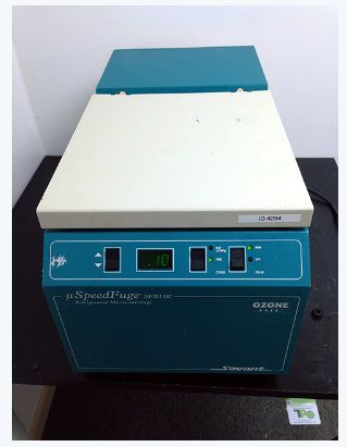 Savant SFR13K, Refrigerated Microcentrifuge with rotor and buckets