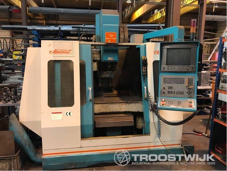 Online auction of modern metal working machines