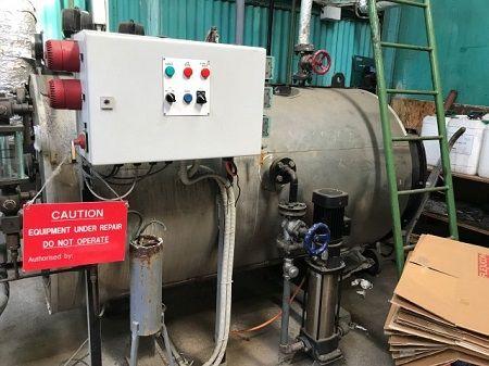Scotts Boiler - Steam