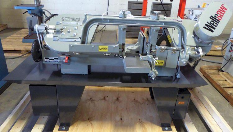 Wellsaw 1016 HORIZONTAL BANDSAW Semi Automatic