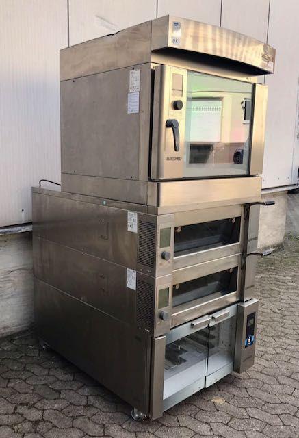 Wiesheu Backcombi EBO + B4 convection oven