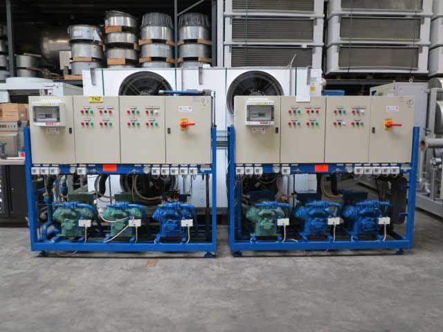 2 Bitzer, Linde 354 kW/104 tons