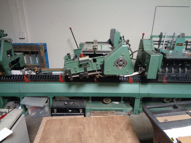 Osako Challenger 175 Saddle Stitcher