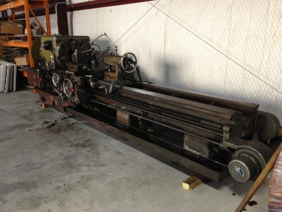 Dean Smith & Grace Hollow Spindle Gap Bed Lathe 290 RPM 25P Oil Country