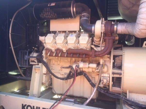 MTU 8V2000 - R0837K36 450KW Diesel Generator Set 450 KW