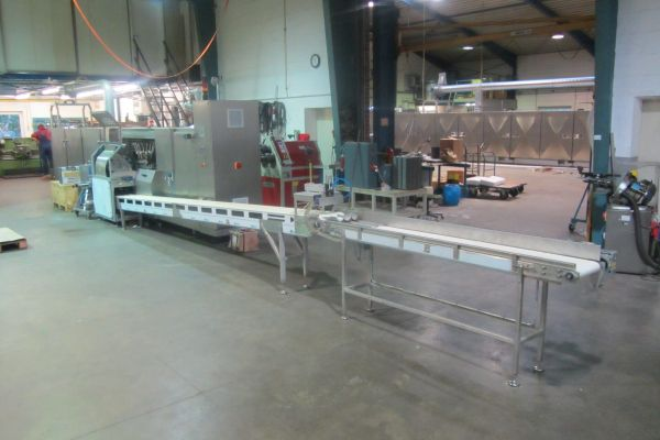Sprematec Base Cone Rolling machine for rolled sweet croissants
