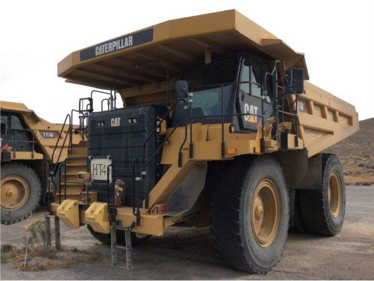 Caterpillar 777G Rigid Dump Truck
