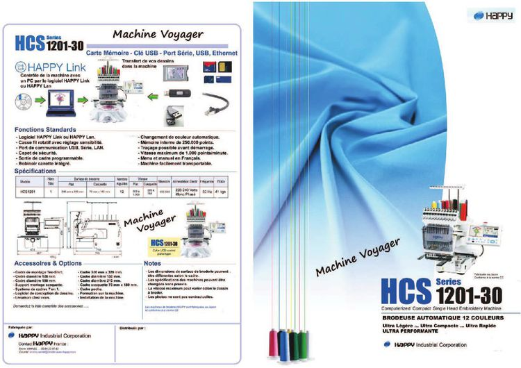 Voyageur machine model HCS 1201-30 1  290*290