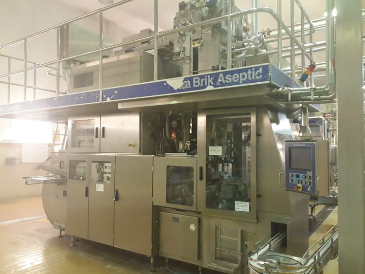 Tetra Pak TBA 19 250ml Base Filling Machine F