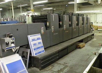 Heidelberg MOSH+L, 6 Colors Offset Machine