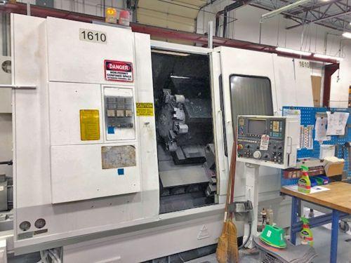Miyano FANUC JC 0T CNC CONTROL 4000 RPM ATS-80C CNC SLANT BED LATHE 2 Axis
