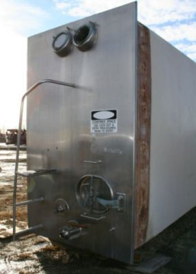 Crepaco Square Stainless Steel Tank 4,200 Gallon